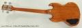 Gibson SG Standard Bass Guitar, 2014 Full Rear View