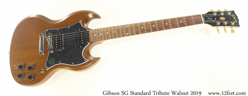 Gibson SG Standard Tribute Walnut 2019 Full Front View