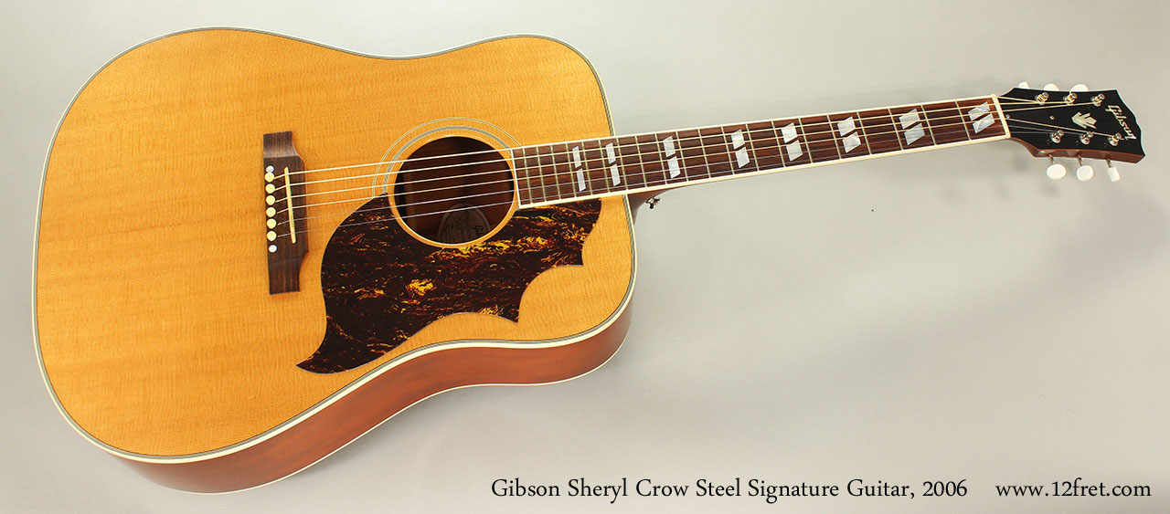 Gibson Sheryl Crow Steel Signature Guitar, 2006 Full Front VIew