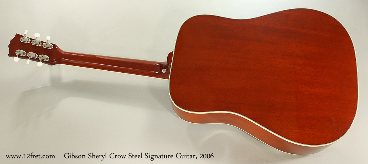 Gibson Sheryl Crow Steel Signature Guitar, 2006 Full Rear View