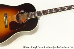 Gibson Sheryl Crow Southern Jumbo Sunburst, 2012 Full Front View