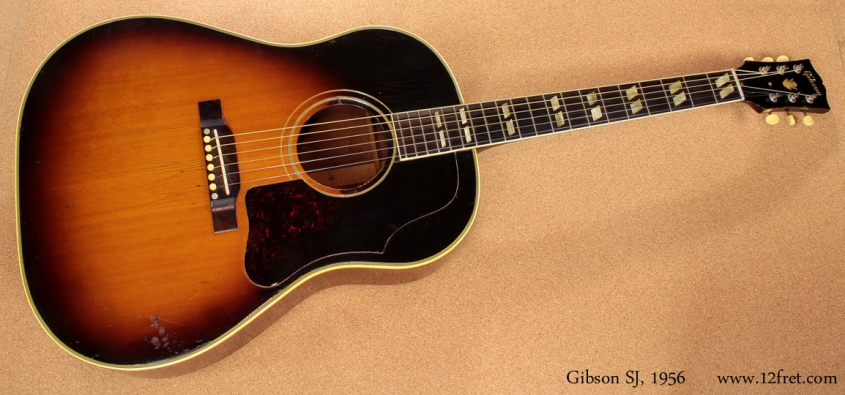 Gibson SJ 1956 full front view