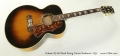 Gibson SJ-200 Steel String Guitar Sunburst, 1954  Full Front View