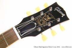 Gibson Slash Signature Rosso Corsa, 2013 Head Front View