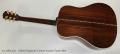 Gibson Songwriter Custom Acoustic Guitar, 2015 Full Rear View