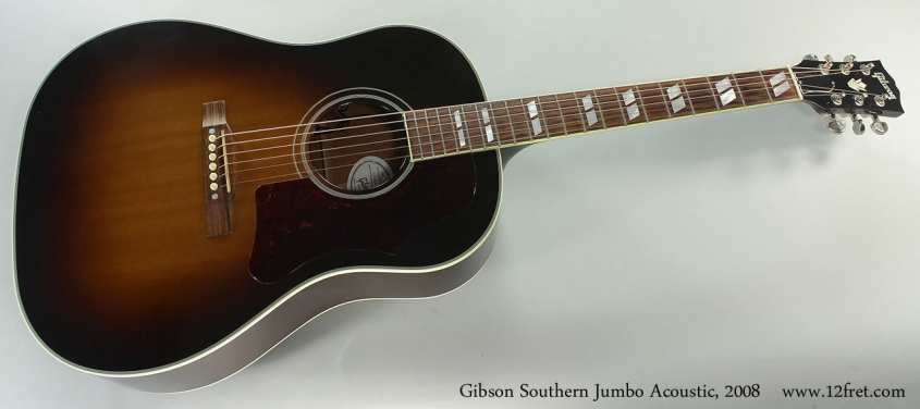 Gibson Southern Jumbo Acoustic, 2008 Full Front View