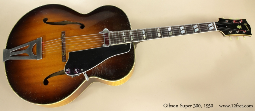 Gibson Super 300 1950 full front view