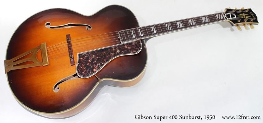 Gibson Super 400 1950 full front view
