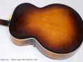 Gibson Super 400 1950 back