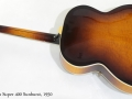 Gibson Super 400 1950 full rear view