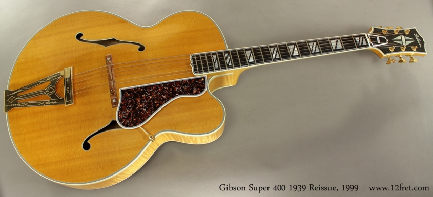 Gibson Super 400 1939 Reissue, 1999 full front view