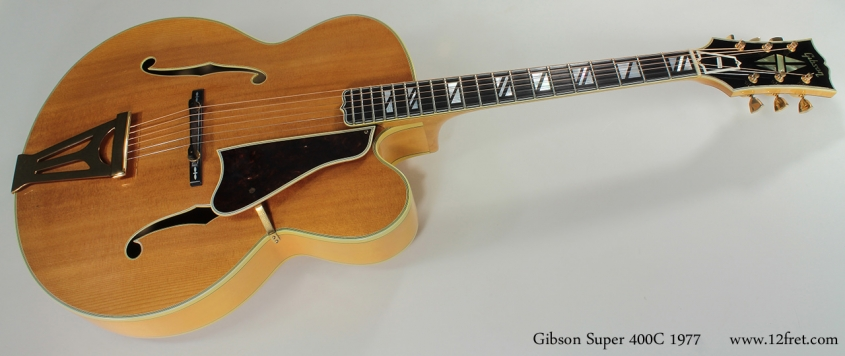Gibson Super 400 C 1977 full front view