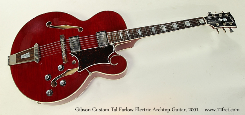 Gibson Custom Tal Farlow Electric Archtop Guitar, 2001 Full Front View