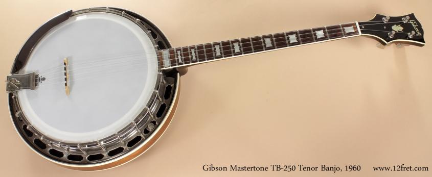 Gibson Mastertone TB-250 Tenor Banjo 1960 full front view