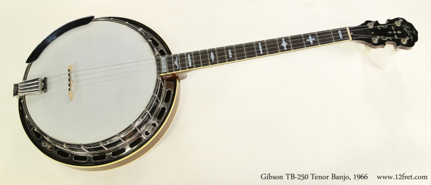 Gibson TB-250 Tenor Banjo, 1966  Full Front View