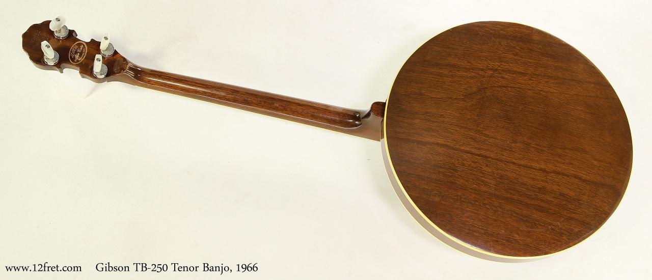 Gibson TB-250 Tenor Banjo, 1966  Full Rear View