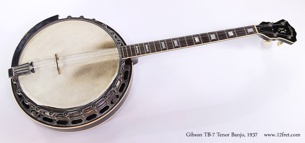 Gibson TB-7 Tenor Banjo, 1937 Full Front View
