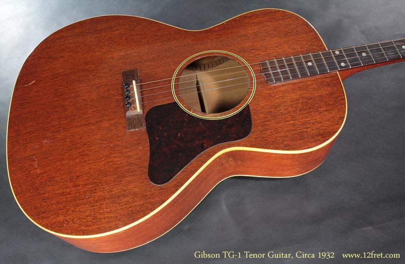 Gibson TG-1 Tenor Guitar CIrca 1932 top