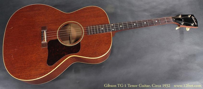 Gibson TG-1 Tenor Guitar CIrca 1932 full front view