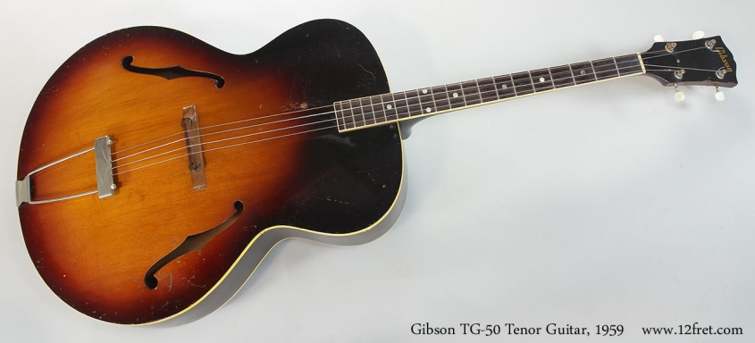 Gibson TG-50 Tenor Guitar, 1959 Full Front View