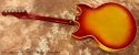 Gibson Trini Lopez Custom Sunburst 1964 full rear view