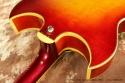 Gibson Trini Lopez Custom Sunburst 1964 heel