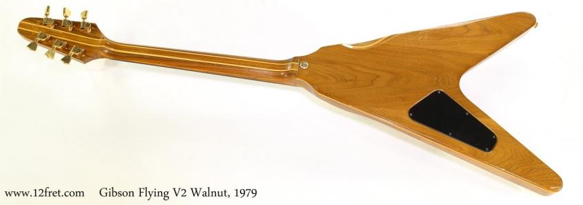 Gibson Flying V2 Walnut, 1979  Full Rear View