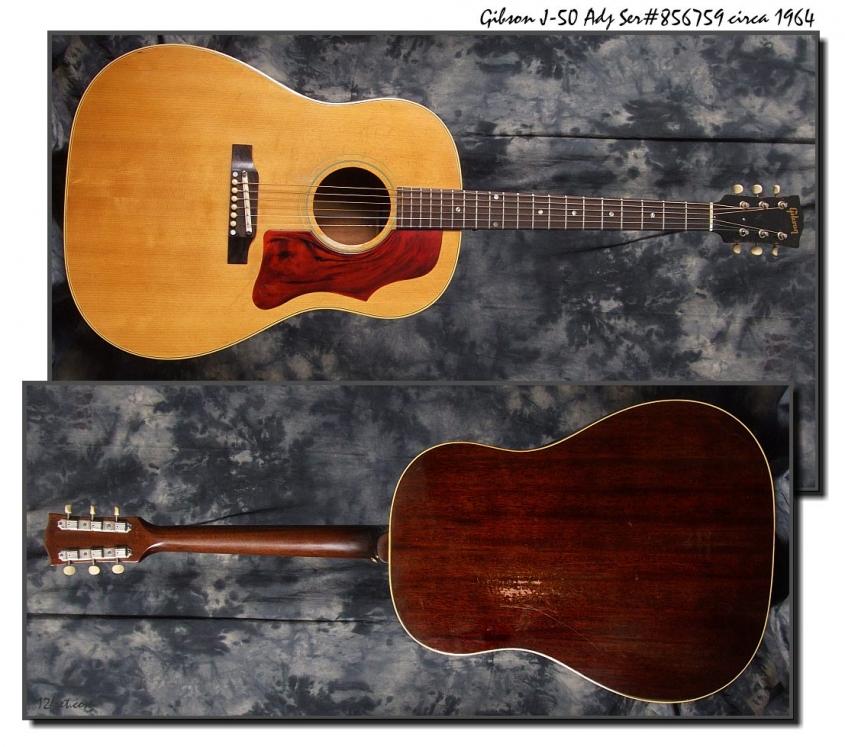 Gibson_J-50Adj_1964