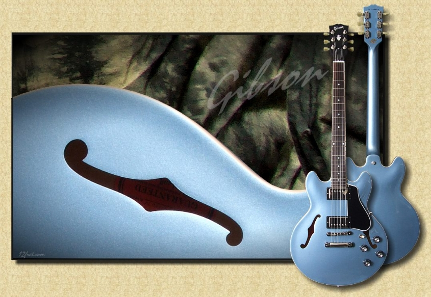 Gibson_ES_339_Blue