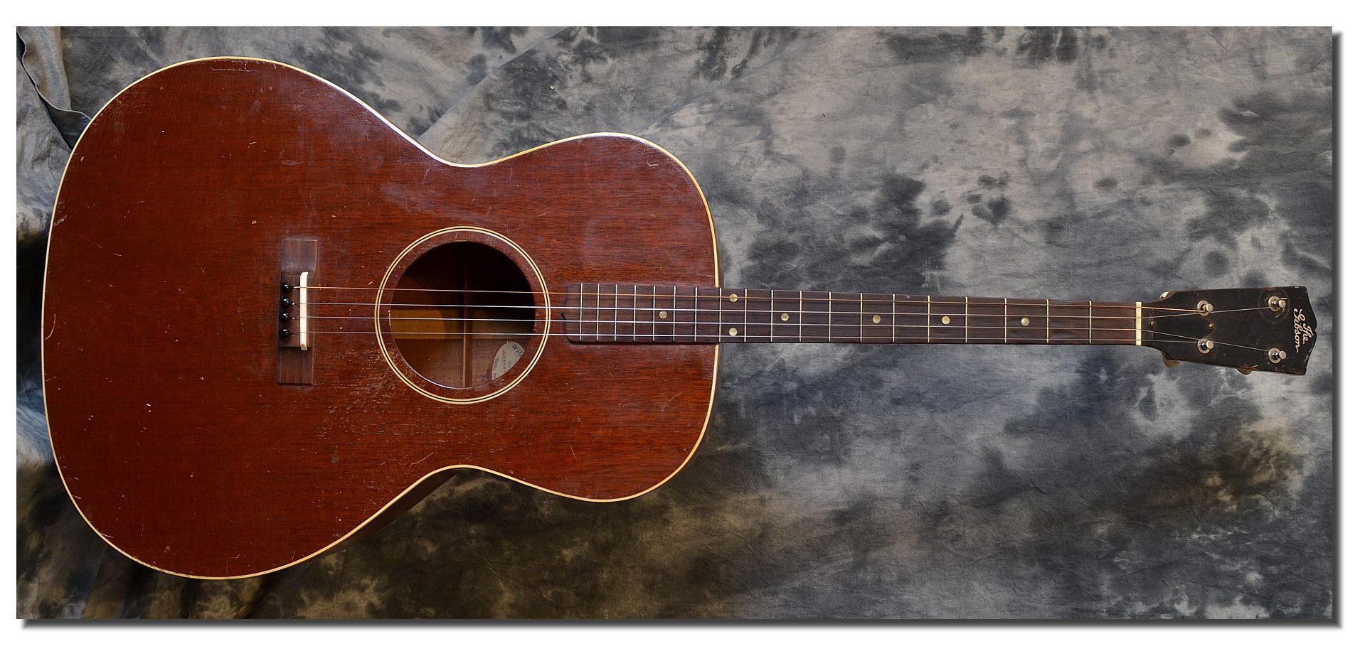 gibson tg 00 tenor guitar 1934. Black Bedroom Furniture Sets. Home Design Ideas