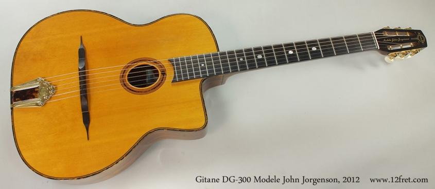 Gitane DG-300 Modele John Jorgenson, 2012 Full Front View