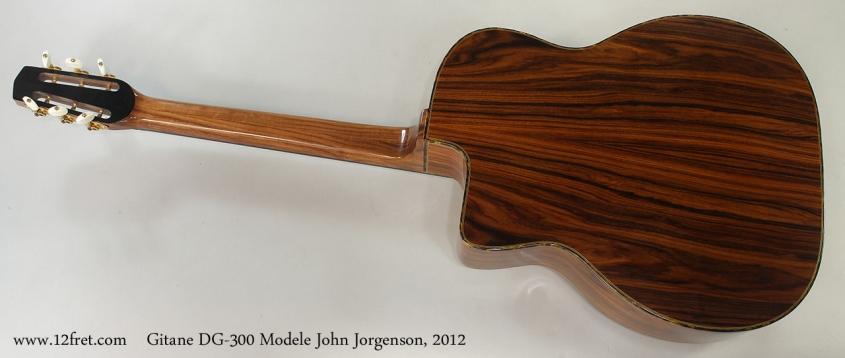 Gitane DG-300 Modele John Jorgenson, 2012 Full Rear View