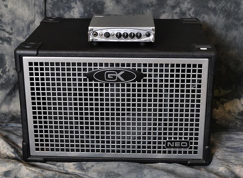 Gallien-Krueger MB-200 Bass amp and Neo 112 Cabinet - www.12fret.com