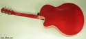 Godin 5th Avenue Uptown GT red, rear view