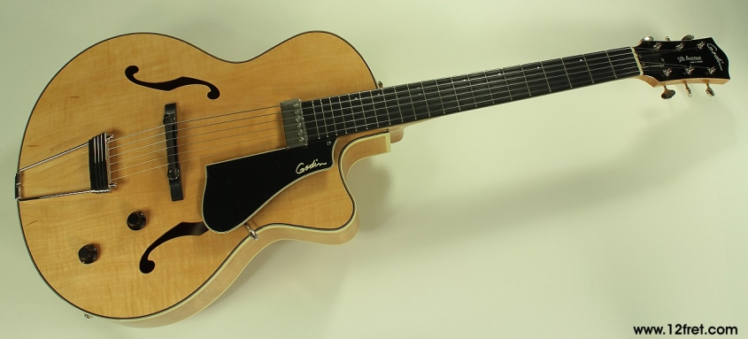 Godin 5th Avenue Jazz Natural front view