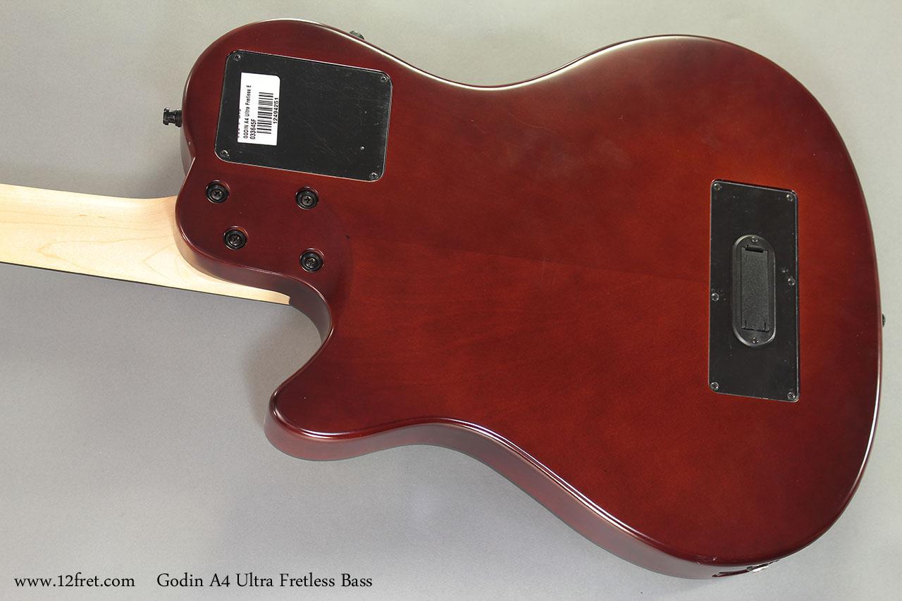 Godin A4 Ultra Fretless Bass back