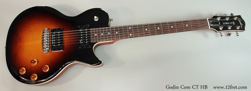 Godin Core CT HB Full Front View
