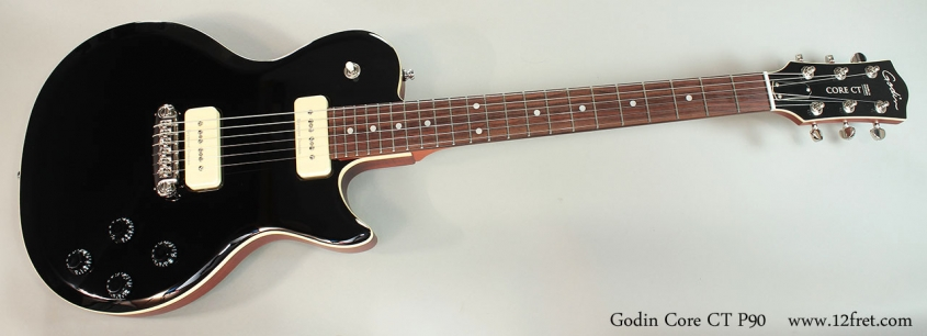Godin Core CT P90 Full Front View