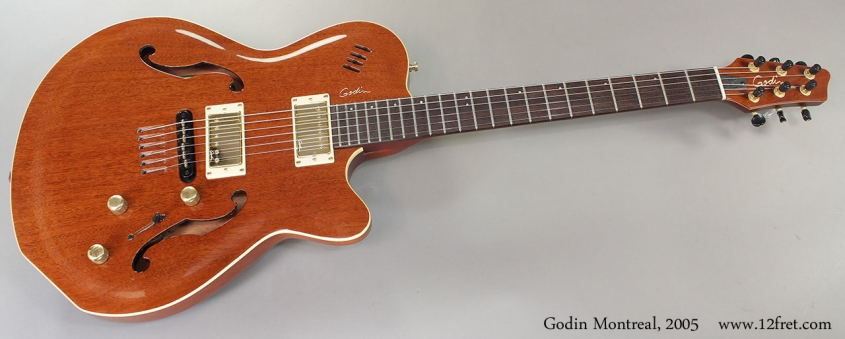 Godin Montreal, 2005 Full Front View