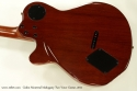 Godin Montreal Mahogany Two Voice 2011 back