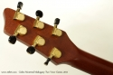 Godin Montreal Mahogany Two Voice 2011 head rear view