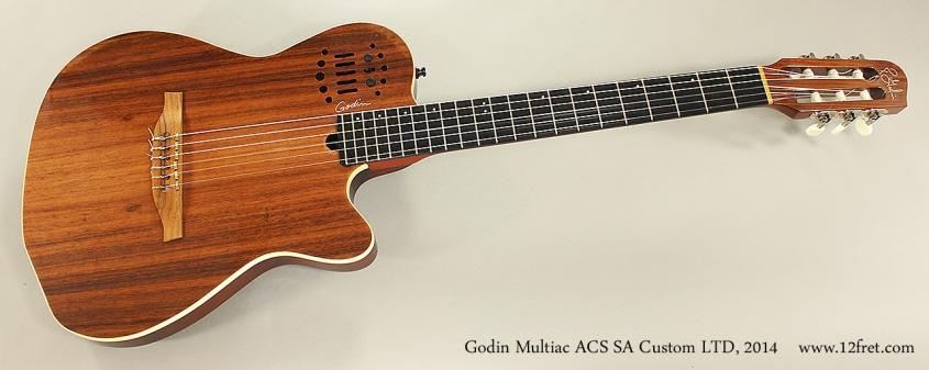 Godin Multiac ACS SA Custom LTD, 2014 Full Front View