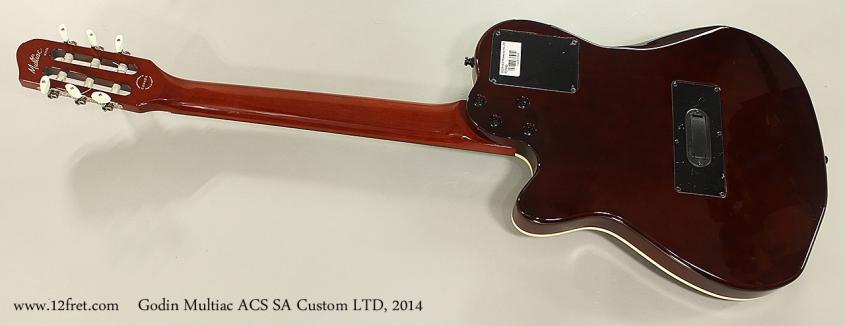 Godin Multiac ACS SA Custom LTD, 2014 Full Rear View