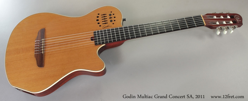 Godin Multiac Grand Concert SA, 2011 Full Front View