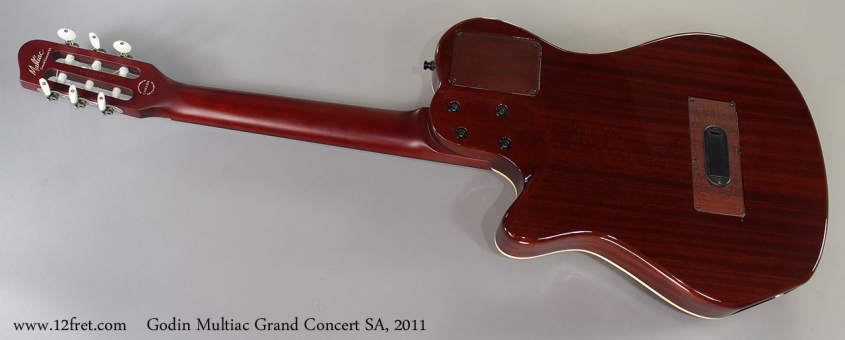 Godin Multiac Grand Concert SA, 2011 Full Rear View