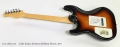 Godin Session Sunburst Solidbody Electric, 2017 Full Rear View