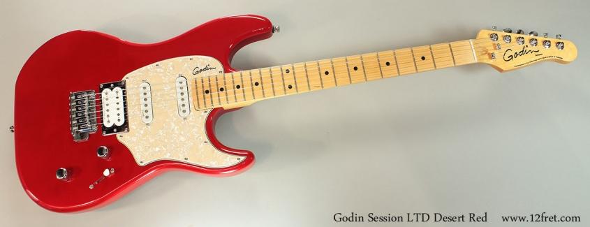 Godin Session LTD Desert Red Full Front View