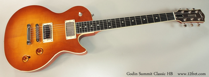 Godin Summit Classic HB Full Front View