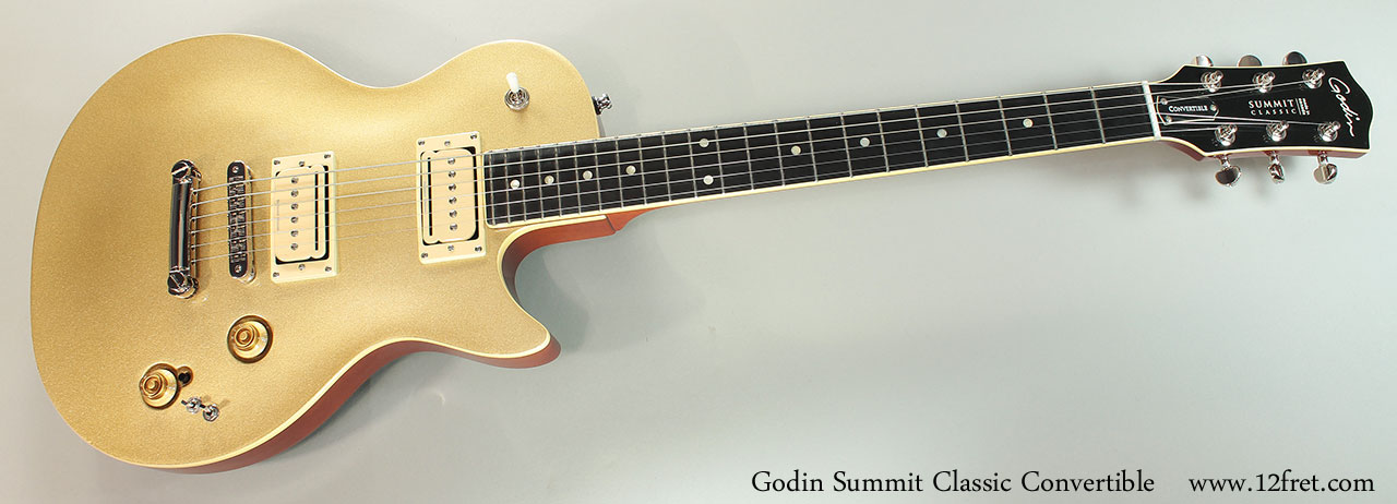 Godin Summit Classic Convertible Full Front View