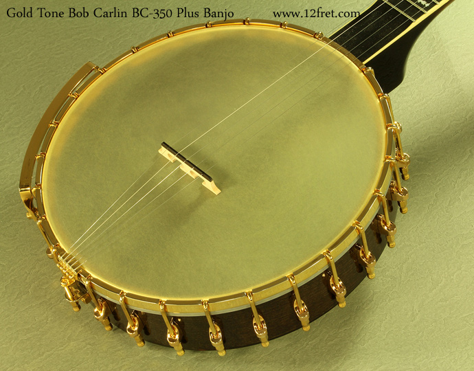 Gold Tone Bob Carlin BC-350 Plus top